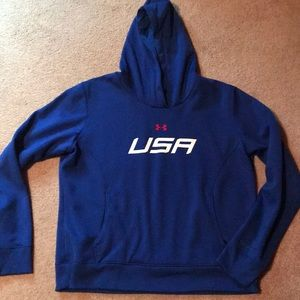 Womens Under Armor Storm fleece lined hoodie
